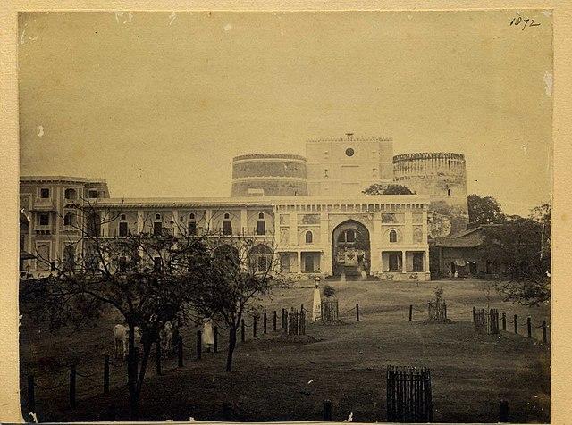 Bhadra fort in ahmedabad  gujarat  india   1872