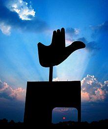Openhand monument