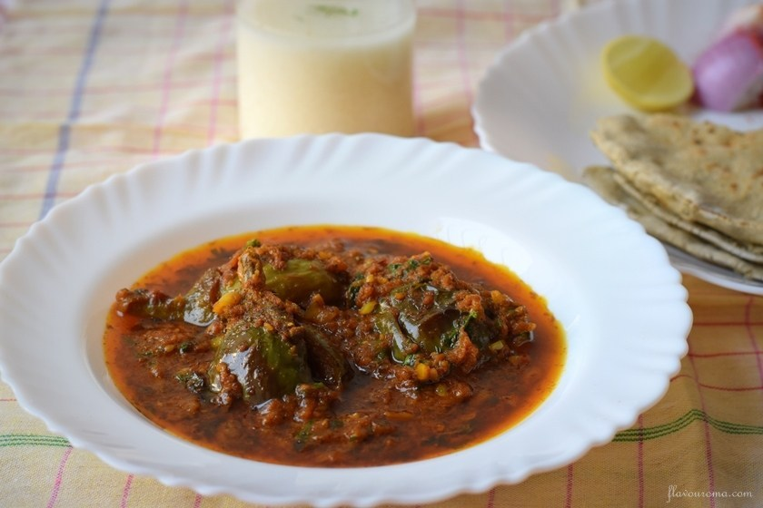 Bharli vangi recipe featured image