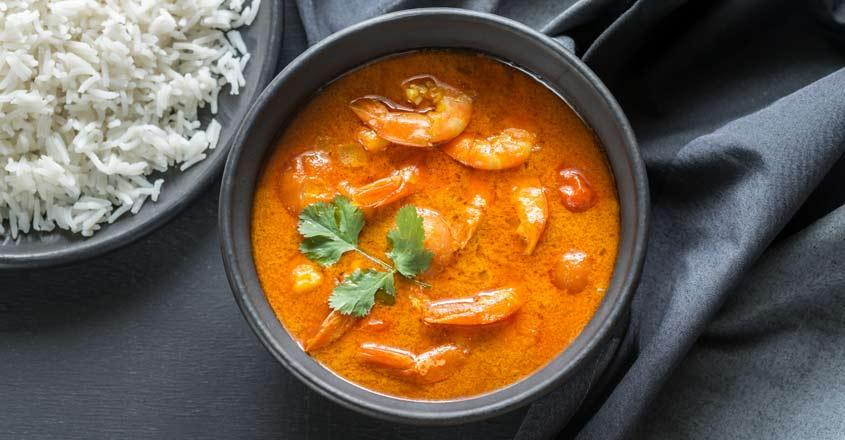 Prawns curry