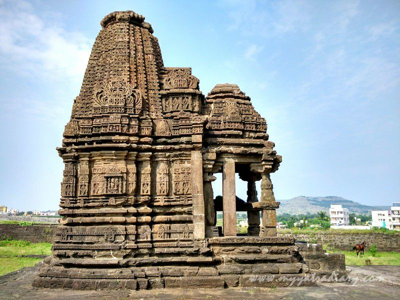 Ganesha temple at gondeshwar temple in sinnar near nashik  maharashtra