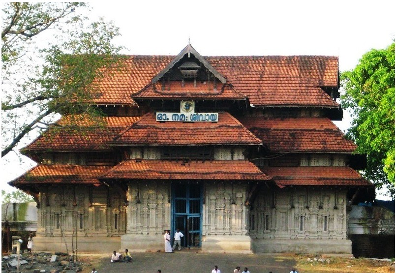 Thrissur temple